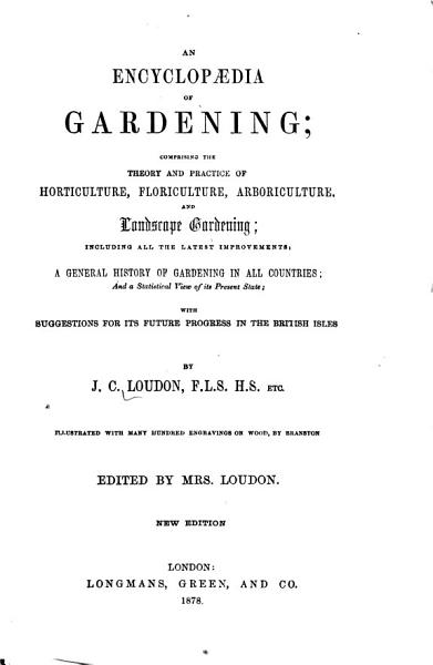 Download An Encyclopaedia of Gardening Book