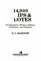 14 000 Quips and Quotes for Speakers  Writers  Editors  Preachers  and Teachers PDF