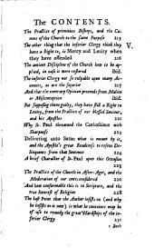 The Miseries and Great Hardships of the Inferiour Clergy, in and about London: And a Modest Plea for Their Rights, and Better Usage; in a Letter to the Right Reverend Father in God, John Lord Bishop of London, Volume 3