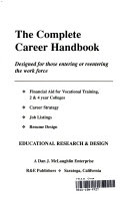 The Complete Career Handbook