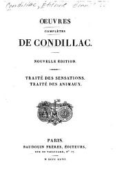 Oeuvres completes de Condillac: Volume 3