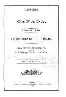 Census of Canada PDF