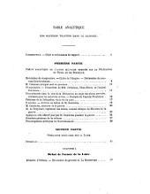 Enquête parlementaire: Rapports, Volume6
