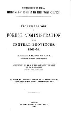 Report of forest administration  1862 63 1946 47 PDF