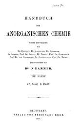 Handbuch der anorganischen chemie in drei bände: Band 2,Ausgabe 2