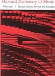 Harvard Dictionary of Music PDF