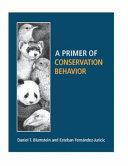 A Primer of Conservation Behavior PDF