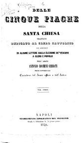 Delle cinque piaghe della Santa Chiesa
