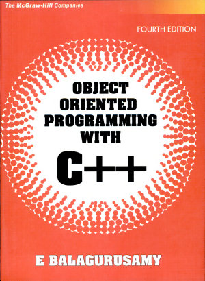 Object Oriented Programming With C   PDF