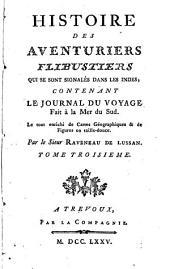 Histoire des aventuriers flibustiers qui se sont signalés dans les Indes: Volume3