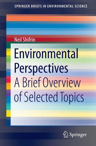 Download Environmental Perspectives Book