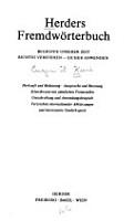 Herders Fremdw  rterbuch PDF