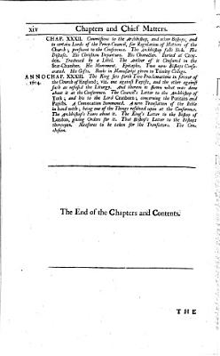 The life and acts of John Whitgift  the third and last Lord Archbishop of Canterbury in the reign of Queen Elizabeth