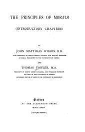 The Principles of Morals: Part 1