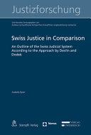 Swiss Justice in Comparison
