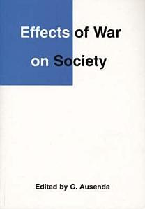 Effects of War on Society Book