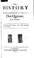 The History of the Valorous and Witty Knight errant Don Quixote of the Mancha PDF