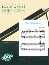 Alfred's Basic Adult Piano Course: Duet Book 1