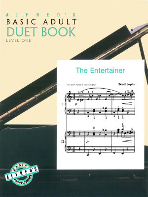 Alfred s Basic Adult Piano Course  Duet Book 1 PDF