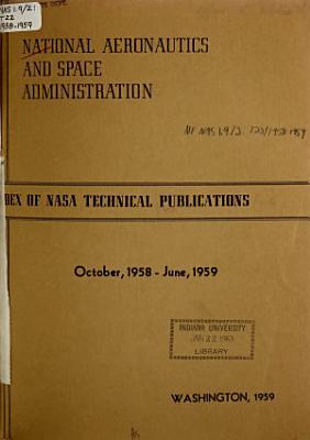 Index of NASA Technical Publications PDF