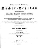 Allgemeines bu  cher lexikon PDF