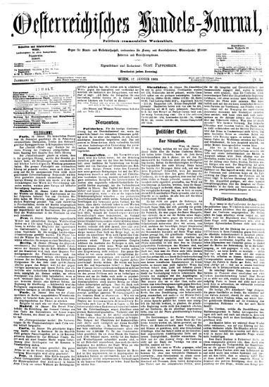 Oesterreichisches Handels Journal PDF