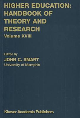 Higher Education  Handbook of Theory and Research 18 PDF