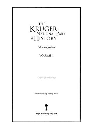 The Kruger National Park PDF
