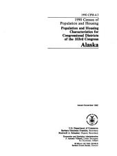 1990 Census of Population and Housing: Population and housing characteristics for congressional districts of the 103rd Congress. Mississippi