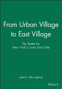 From Urban Village to East Village PDF