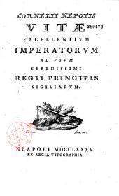 Vitae excellentium imperatorum...