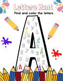Letters Hunt Find And Color The Letters