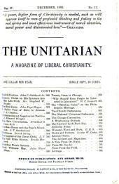 The Unitarian: Volume 4