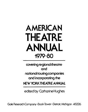 American Theatre Annual PDF