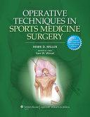 Operative Techniques in Sports Medicine Surgery