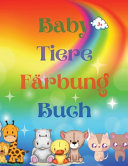 Baby Tiere F  rbung Buch PDF