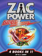 Zac Power: Extreme/Mega Missions Bundle