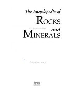 The Encyclopedia of Rocks and Minerals PDF