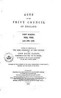 Acts of the Privy Council of England PDF