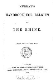 Murray's handbook for Belgium and the Rhine [by J. Murray].