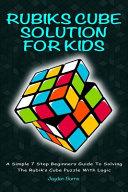 Rubiks Cube Solution for Kids PDF