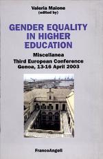 Gender Equality in Higher Education