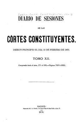 Diario de sesiones de las C  rtes constituyentes PDF