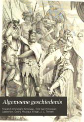 Algemeene geschiedenis: Volumes 9-10