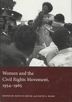 Women and the Civil Rights Movement  1954 1965 PDF