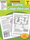 Scholastic Success With Reading Comprehension  Grade 4 Book