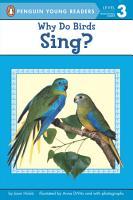 Why Do Birds Sing  PDF