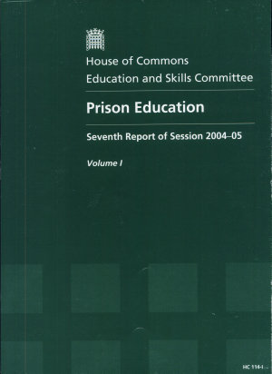 Prison Education  Report  together with formal minutes
