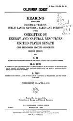 California Desert PDF