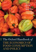 The Oxford Handbook of the Economics of Food Consumption and Policy PDF